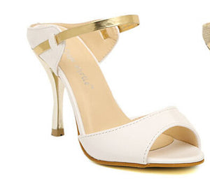 Ankle Strap Open Toe Shoes - J20Style - 1