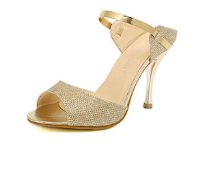Ankle Strap Open Toe Shoes - J20Style - 2