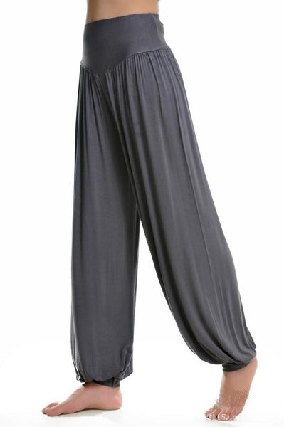 Long Cotton Baggy Pants - J20Style - 3