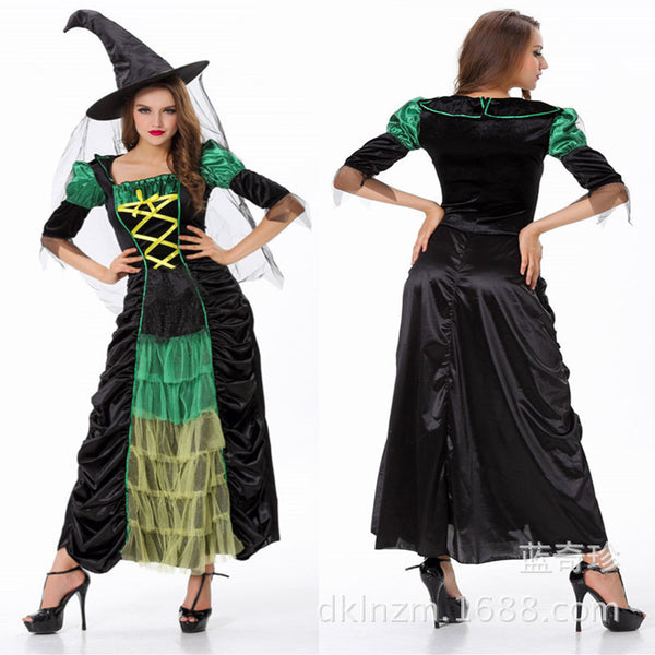 Halloween Two-Piece Witch Costume - J20Style - 1
