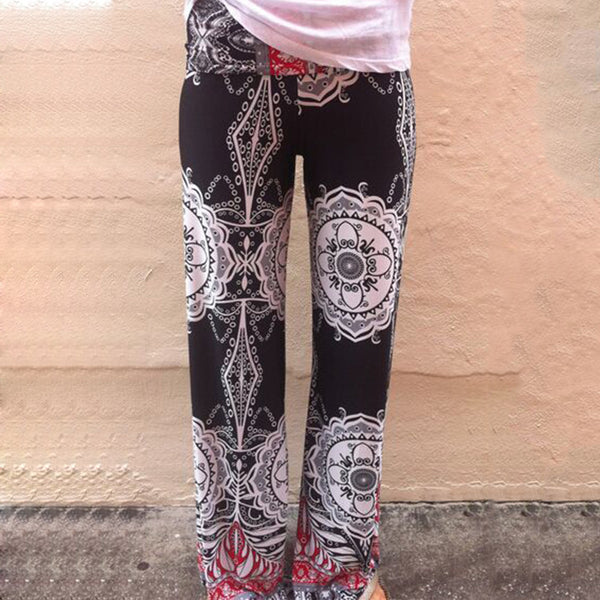 Geometric Printed Full Length Trouser - J20Style - 1