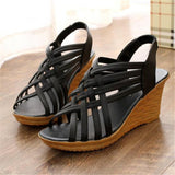 Comfortable Middle - Aged Thick Bottom with Slope Sandal