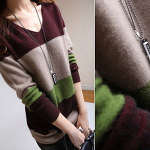 Winter V-Neck Warm Sweaters - J20Style - 1