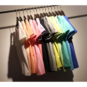 Summer Candy Color O-Neck Tops - J20Style - 2