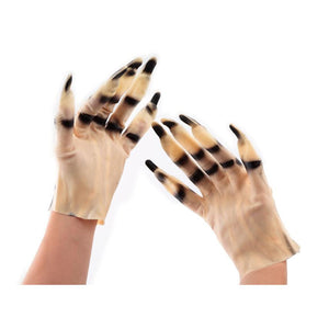 Halloween Decorated Scary Rubber Gloves