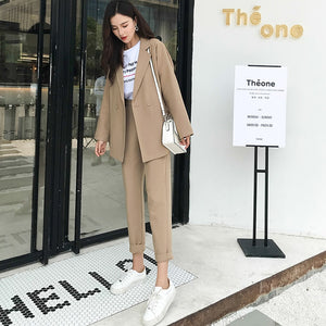 Casual Solid Women Suit
