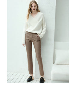 England Style Straight Pants