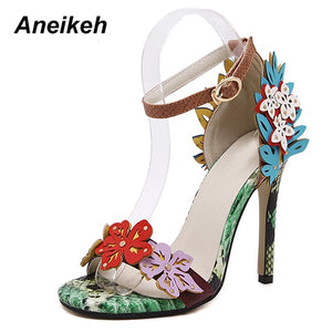 Flower Fashion Ladies Pumps