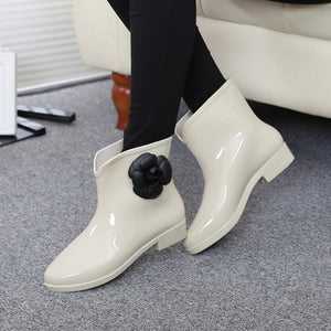 Flower Spring Ankle Boot