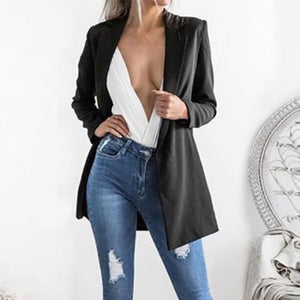 Long Sleeve Loose Blazer