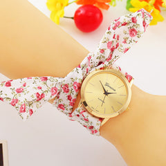 Fabric Bracelet Geneva Wrist Watch - J20Style