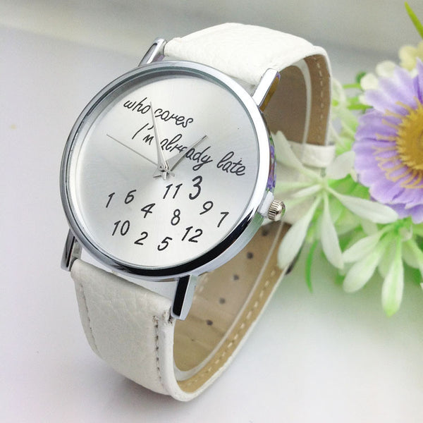 Women Casual Faux Leather Wristwatch - J20Style - 7