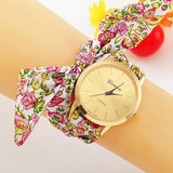 Fabric Bracelet Geneva Wrist Watch - J20Style - 8