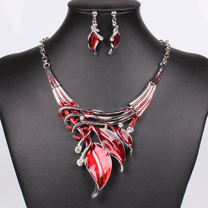 Vintage Style Necklace and Earring - J20Style - 1