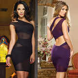 Night Club Bandage Mini Dress - J20Style - 1