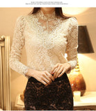 Spring And Autumn Crochet Blouse - J20Style - 6