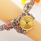 Fabric Bracelet Geneva Wrist Watch - J20Style - 3