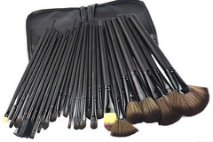 32 Piece Soft Hair Make-Up Brush Kit - J20Style - 2