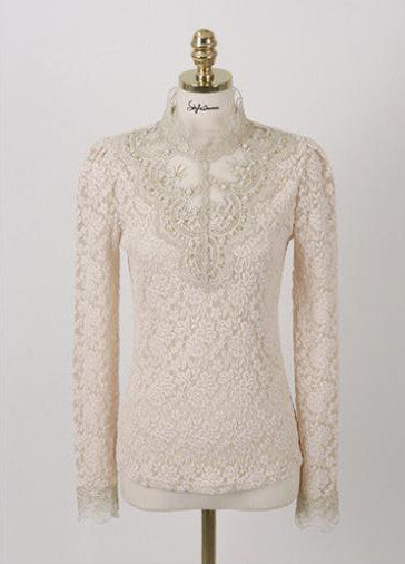 Spring And Autumn Crochet Blouse - J20Style - 10