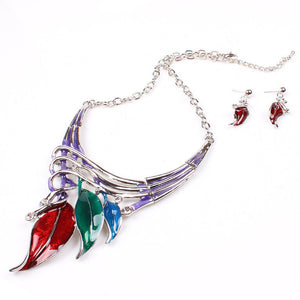 Vintage Style Necklace and Earring - J20Style - 4