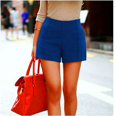 Candy Color High-Waist Shorts - J20Style - 1