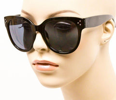 Audrey Black Tortoise Cat Eye Sunglasses - J20Style - 2