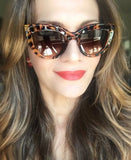 Pin Up Thick Frame Vampy Sunglasses - J20Style - 2