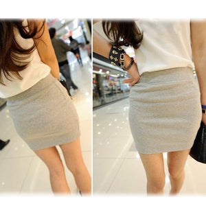 Candy Color Buttock Short Skirt - J20Style - 5