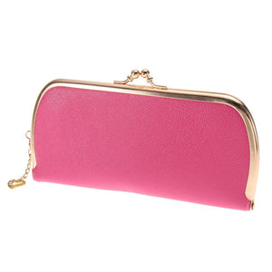 High Quality Leather Hasp Day Clutches - J20Style - 8