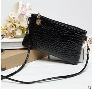 Casual Zipper And Hasp Clutch - J20Style - 2