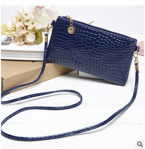 Casual Zipper And Hasp Clutch - J20Style - 3