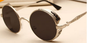 High Quality Steampunk Round Sunglasses - J20Style - 10