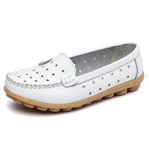 Women Genuine Leather Comfort Shoes