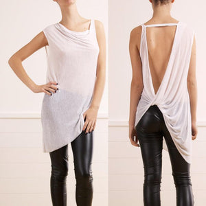 Summer Sleeveless Chiffon Blouse Shirt - J20Style - 7