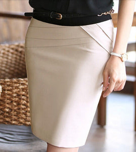 High Waist Formal Office Skirt - J20Style - 9