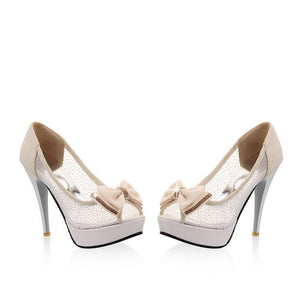 Ultra Thin Cut-Out High Heeled - J20Style - 7
