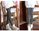 High Elastic Vintage Plaid Leggings - J20Style - 6