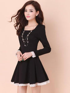 Summer Back Cross Lace-Up Dress - J20Style - 6