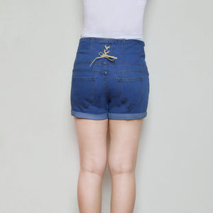 Skinny Stretch High Waist Short - J20Style - 7
