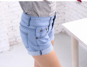 Summer Retro High Waist Shorts - J20Style - 7
