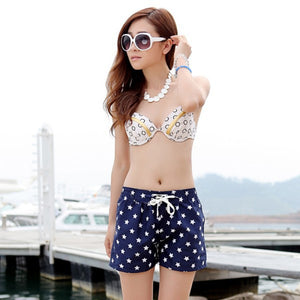 Summer Stars Pattern Stylish Shorts - J20Style - 3