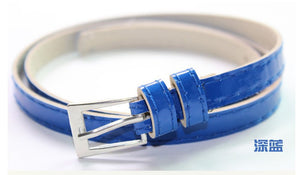 Beautiful Multi-Color Thin Belt - J20Style - 11