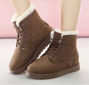 Warm Fashion Ankle Winter Boots For Women