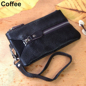 Faux Leather Multifunctional Keychain Handbag - J20Style - 8