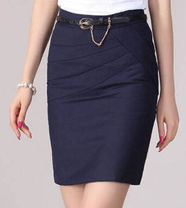 High Waist Formal Office Skirt - J20Style - 7