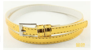 Beautiful Multi-Color Thin Belt - J20Style - 18