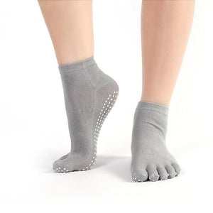 Five Fingers Full Grip Socks