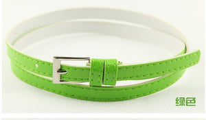 Beautiful Multi-Color Thin Belt - J20Style - 9
