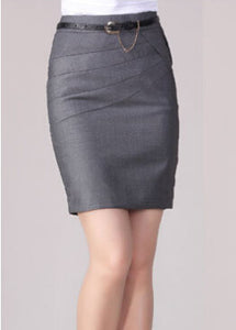 High Waist Formal Office Skirt - J20Style - 8