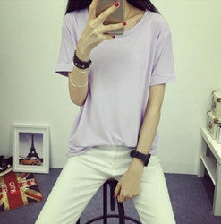 Summer Candy Color O-Neck Tops - J20Style - 10